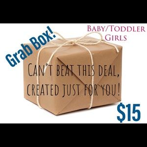 Other - Grab box 🛍 baby and toddler girl!